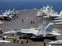 North Korea Warns Of 'Merciless' Strikes As US Carrier Joins South Korea Drills