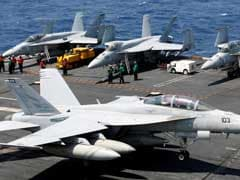 US Carrier Puts On Show Of 'Commitment', Not Power, In South China Sea