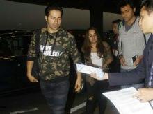 Varun Dhawan And Natasha Dalal Are Off To Bangkok For A Vacation. See Pics