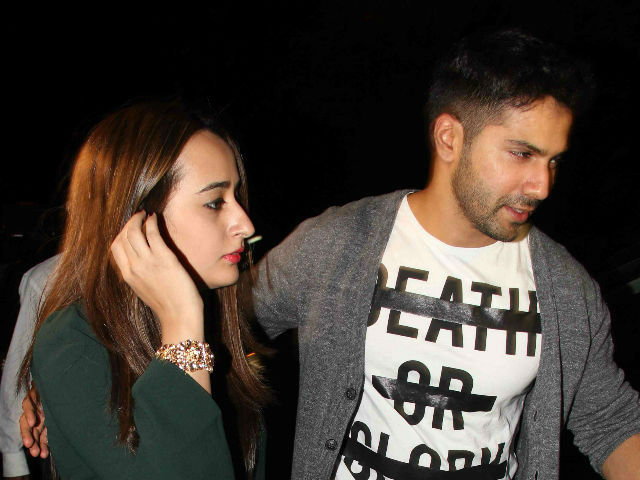 Varun Dhawan And Natasha Dalal Spotted Together At Friend's Birthday Party. See Pic