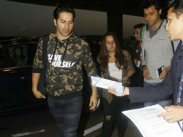 Varun Dhawan And Natasha Dalal Are Off To Bangkok For A Vacation. See Pics