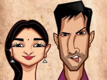 <I>Badrinath Ki Dulhania</i>: Varun Dhawan And Alia Bhatt Are Such 'Cartoons'. See Pic