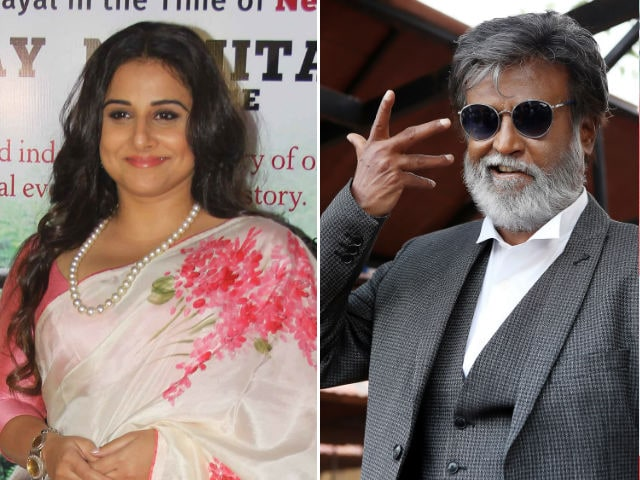 Vidya Balan's Cryptic Response On Starring In Rajinikanth's Kabali Spin-Off