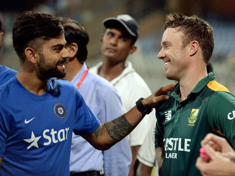 Virat Kohli Remains 3rd in ICC ODI Rankings, AB De Villiers Regains Top Spot