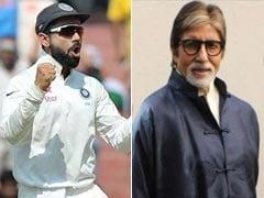 धर्मशाला में टीम इंडिया की जीत के बाद अमिताभ बच्चन ने ब्रेड हॉज को बताई विराट कोहली के नहीं खेलने की वजह...