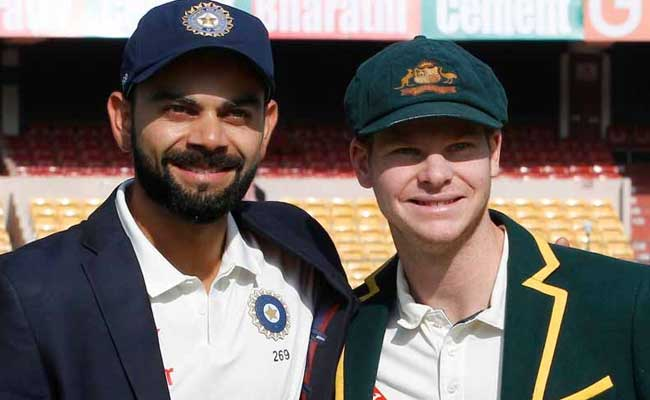 INDvsAUS:जब अम्पायर ने दिया दखल, ऑस्ट्रेलियाई कप्तान स्मिथ और विराट कोहली के बीच बहस होते-होते बची..