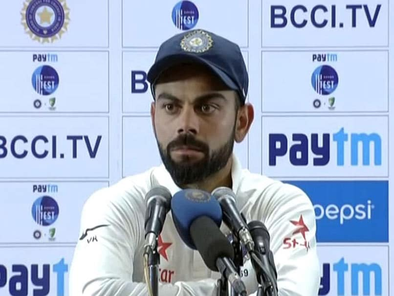 Kohli: No longer friends with Australia cricket team