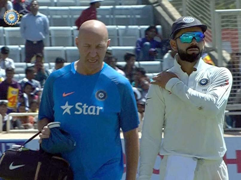 India vs Australia: Virat Kohli Being Treated For Shoulder Injury, No Serious Concerns