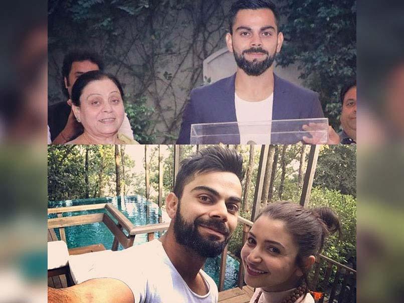 International Women's Day: Virat Kohli's Touching Message To His Mother And Anushka Sharma