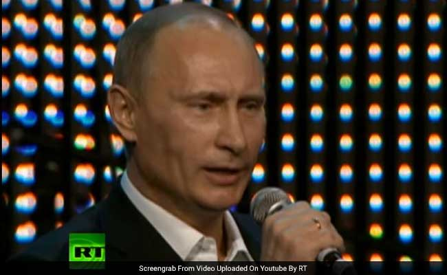 Video Of Vladimir Putin Singing Proves There Is Nothing He Cannot Do