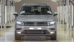 Volkswagen Tiguan SUV Goes Into Production In India