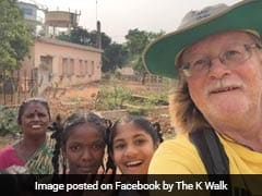 British Man Walks From Kanyakumari To Kolkata To Raise Money For Charity