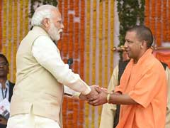 In Tweets, PM Modi Shows Resounding Support To Yogi  Adityanath
