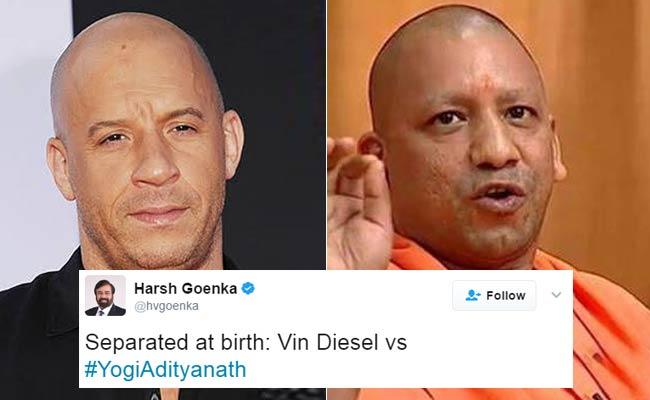 योगी आदित्यनाथ के यूपी सीएम बनने पर ट्विटर ने विन डीज़ल को याद किया