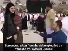 Viral Video: मक्का के ग्रैंड मस्जिद के सामने किया गर्लफ्रेंड को प्रपोज, आने लगे भद्दे कमेंट