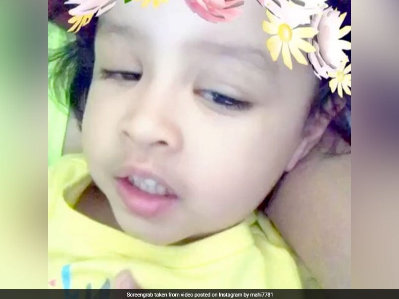 MS Dhoni's Daughter Ziva Gears Up For IPL Season 10. This Is How