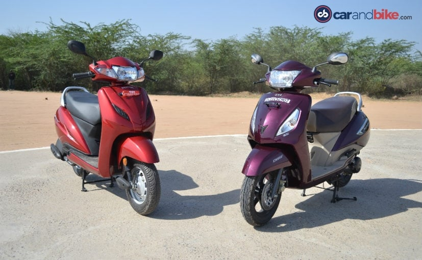 Honda Activa 4G VS TVS Jupiter: Comparison Review - NDTV