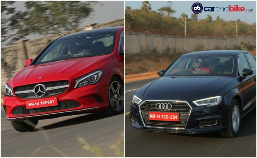 2017 Audi A3 Facelift Vs Mercedes-Benz CLA: Specifications Comparison