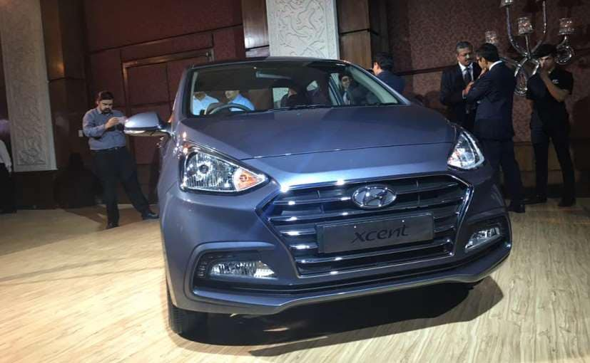 2017 hyundai xcent facelift launch