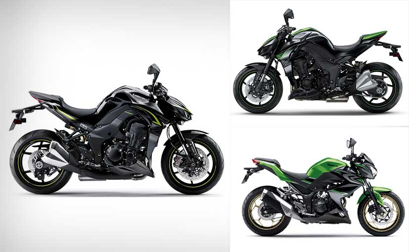 kawasaki z1000 z1000r and z250 launched in india ndtv carandbike. Black Bedroom Furniture Sets. Home Design Ideas