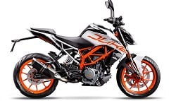 2017 KTM 390 Duke Limited Edition White Paint Scheme Launched