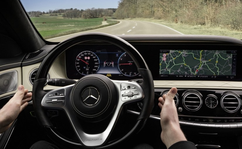 New Mercedes Benz S Class Facelift Interior Unveiled Ahead