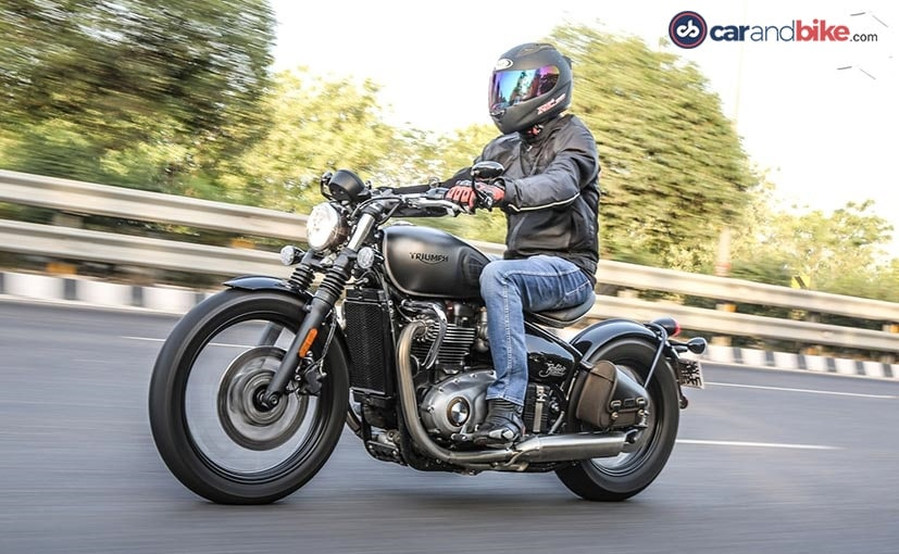 2017 Triumph Bonneville Bobber Test Ride Review