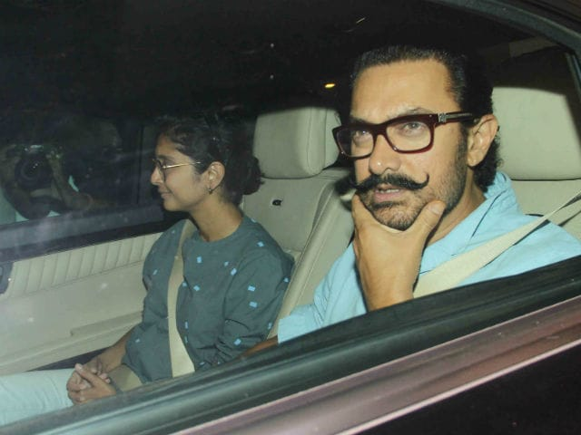 Aamir Khan And Kiran Rao Visit Karan Johar To Meet His Twins