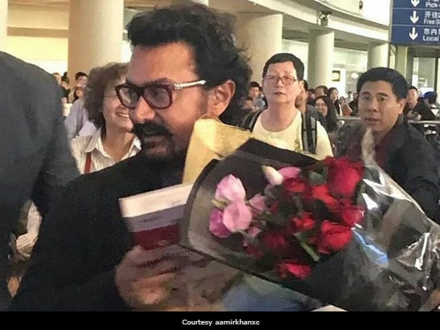 Aamir Khan Visits China Ahead Of Dangal's Release In Chinese Theatres