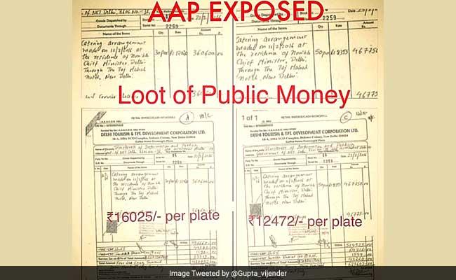 12000 रुपये की थाली पर मनीष सिसोदिया के जवाब को बीजेपी ने बताया झूठ, पढ़ें क्यों?