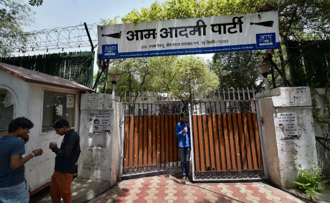Aam Aadmi Party Gets 27-Lakh Rent Notice From Its Own Government