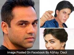 अभय देओल ने की शाहरुख खान, दीपिका पादुकोण की खिंचाई, फेयरनेस विज्ञापनों का जमकर उड़ाया मजाक