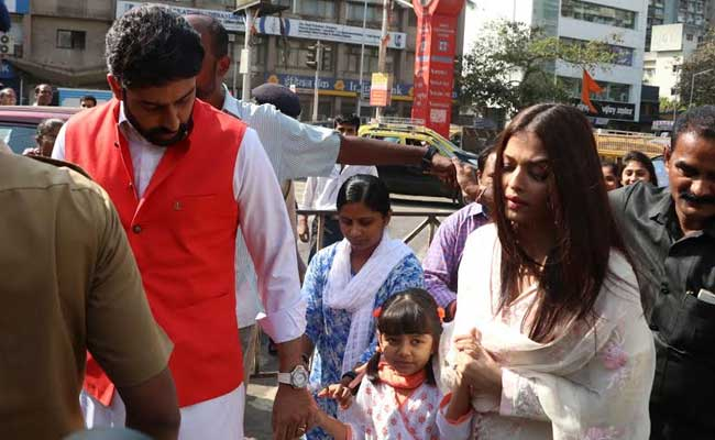 abhishek aishwarya rai aaradhya bachchan