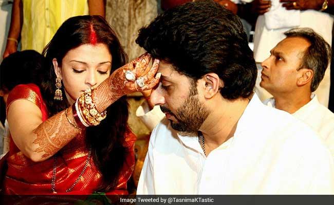 #10YearsOfAbhiAish : शादी की 10वीं सालगिरह पर बोले अभिषेक बच्चन, 'यूं ही बीत गए 10 साल...'