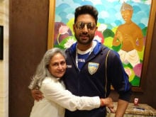 Abhishek Bachchan Shares A Flashback Picture On Mother Jaya Bachchan's Birthday