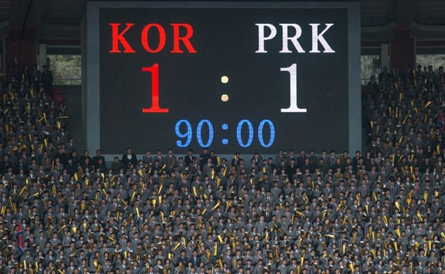 afb nkorea vs skorea football qualifier