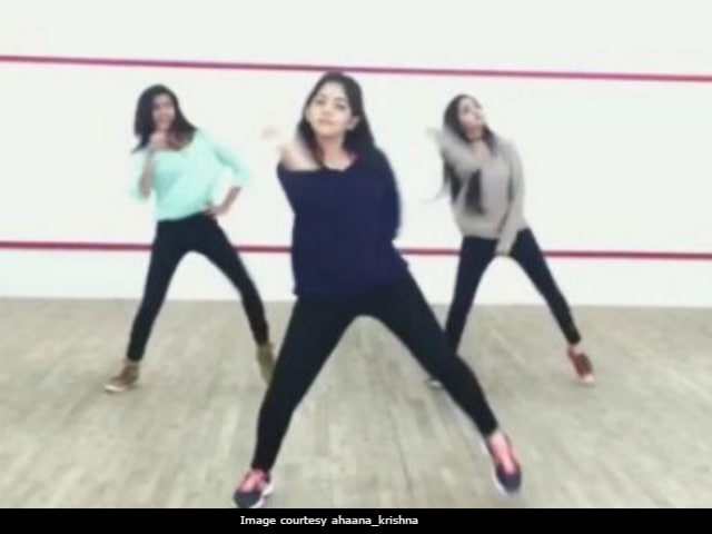 Ahanaa Krishna Is Trending Because Of Her Shape Of You Dance Cover With Sisters