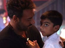Ajay Devgn Shares Candid Pic With Son Yug. It's Adorable