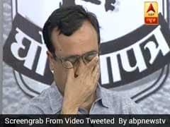बीजेपी में शामिल हो चुके अरविंदर लवली ने अपने पुराने बॉस अजय माकन के आंसुओं पर दिया यह बयान