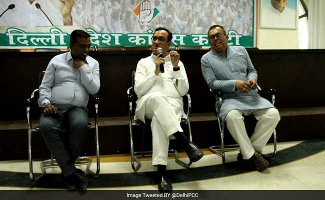 MCD Election 2017: Congress To Launch Dilli Ki Baat, Dil Ke Saath Campaign