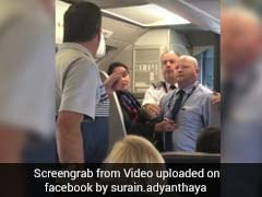 Now American Airlines Staff Nearly Hits Woman Passenger With Baby Stroller. Video Is Viral