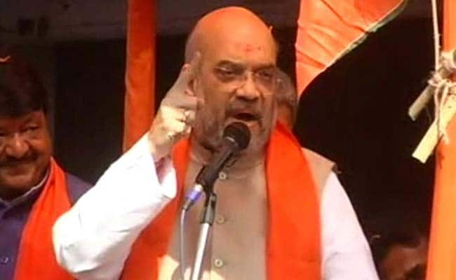 Narada Sting Case: Amit Shah Rejects Trinamool Congress' Conspiracy Charge