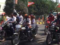 2 Garlands For Amit Shah In Odisha Make BJP Intent Clear: Let's Win This
