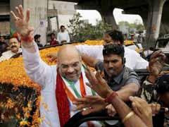 BJP President Amit Shah Arrives In Jammu And Kashmir On 2-Day Visit
