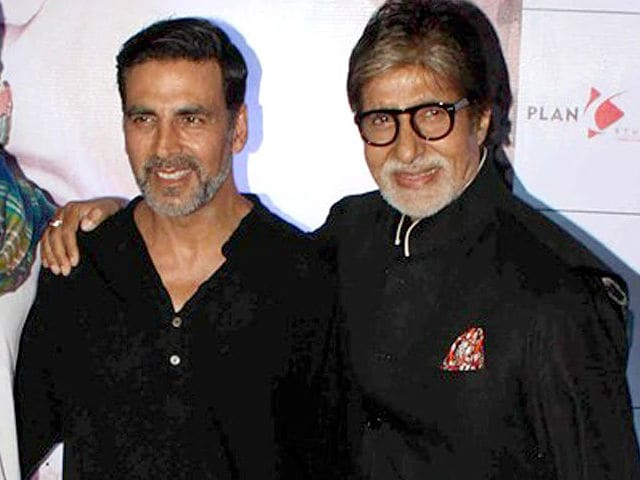 Amitabh Bachchan Shoots For Akshay Kumar's Padman