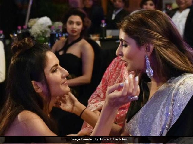 Amitabh Bachchan Loves This Pic Of Katrina Kaif And His Daughter Shweta