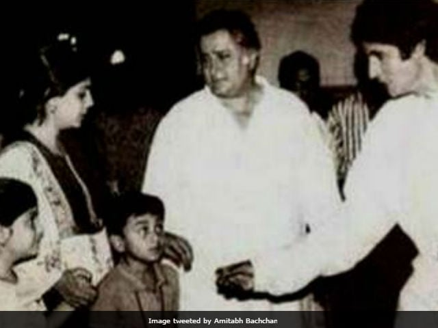 Amitabh Bachchan Found Old Pic Of Ranbir Kapoor As A Child