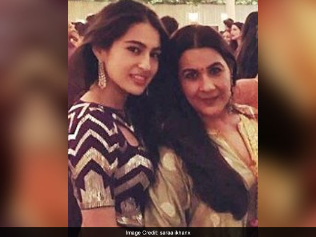 Amrita Singh Reportedly Refuses To Let Daughter Sara Ali Khan Wear Bikini In Debut Film