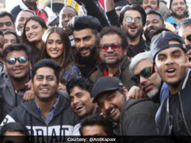 It's A Wrap For Mubarakan: Anil Kapoor, Arjun Kapoor Share 'Goodbye' Pictures