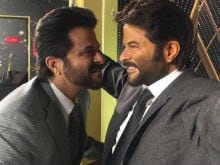 Anil Kapoor Is Too Thrilled To Meet Himself. Double Jhakaas